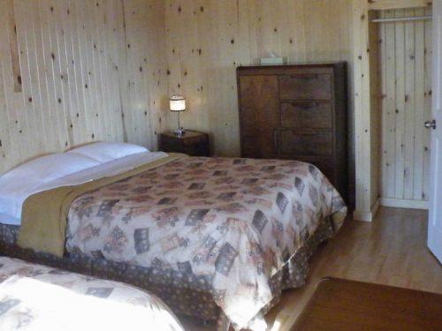 Essipit - Chambre d'un chalet Shipek
