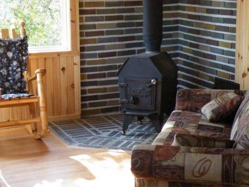 Essipit - Salon et foyer chalet Shipek