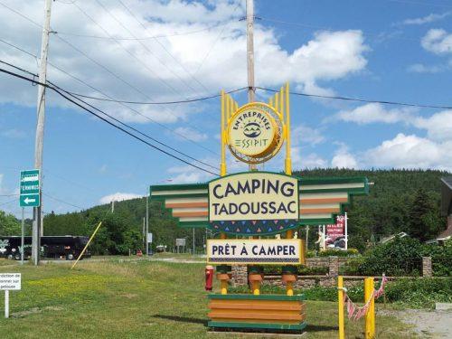 Essipit - Accueil camping Tadoussac