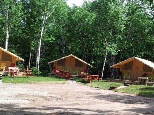 Essipit - Prêt à camper du camping Tadoussac