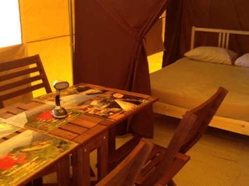 Essipit - Cuisine et lit prêt-à-camper au camping Tadoussac