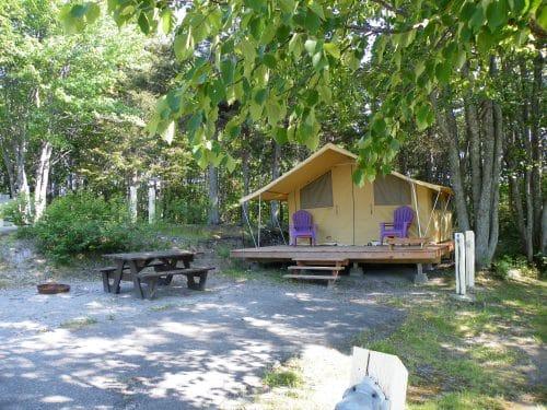 Essipit - Prêt-à-camper au camping le Tipi