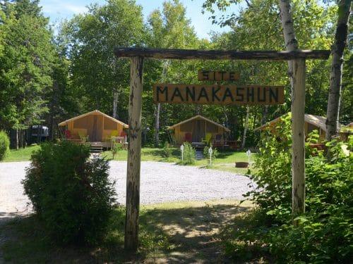 Essipit - Prêt-à-camper au camping Tadoussac